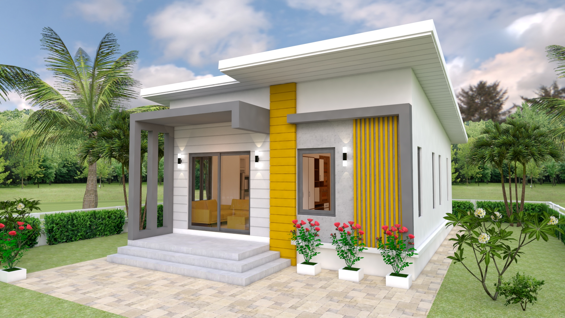 House Design Plans 7x12 With 2 Bedrooms Full Plans House Plans