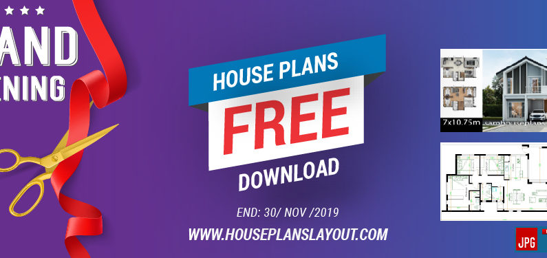 Top 10  House plans Free Download